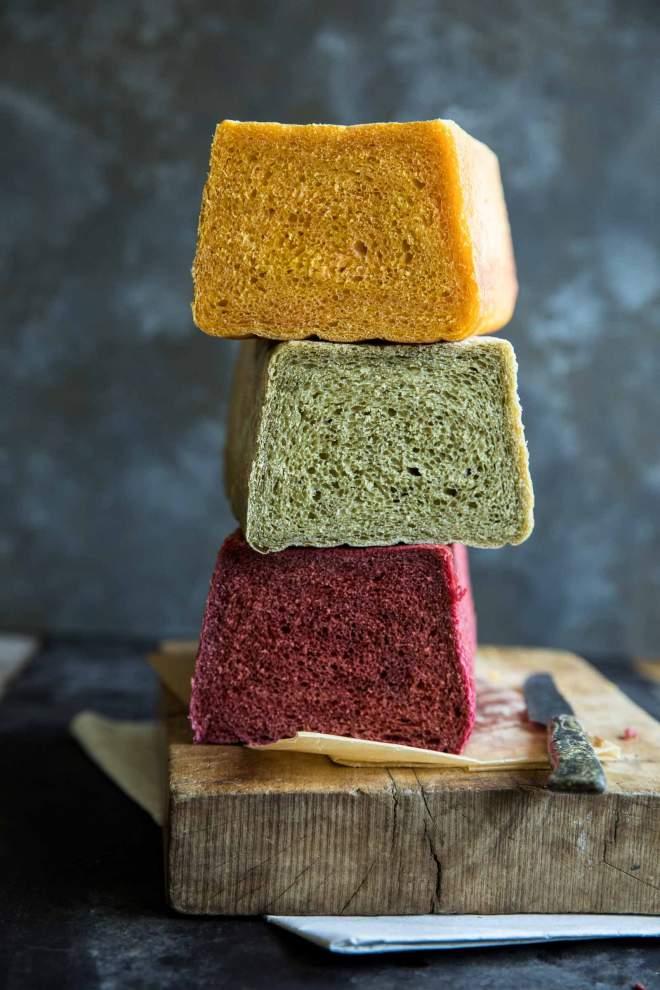 Colorful Sandwich Bread