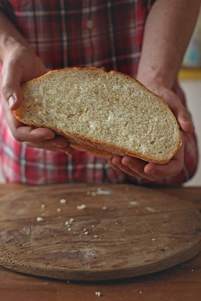 Delicious Baked White flour loaf