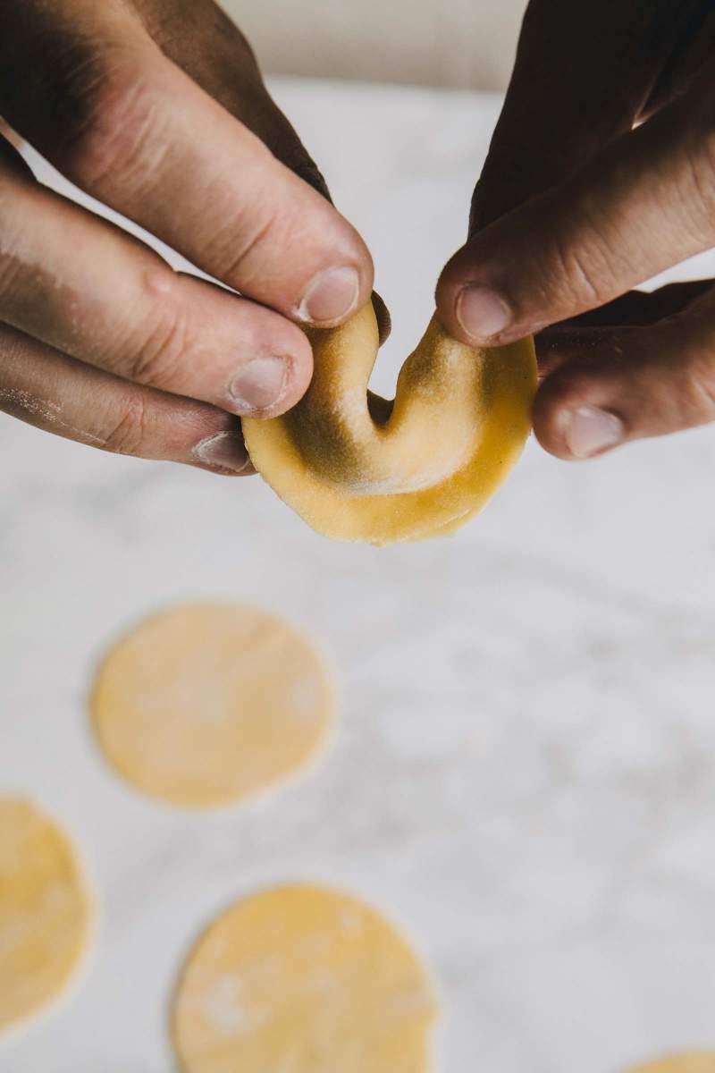 Oblikovanje tortelinov